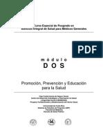 Promocion Prevencion y Educacion Para La Salud