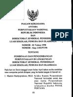 Piagam Kerjasama Kepustakaan Disertai Pasal Perjanjian