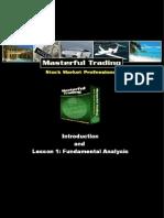 Masterful Trading Stock Market Professional