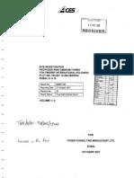 Site Investigation Soil Report
