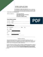 FPPC Complaint Sheedy w Exhibits 10-28-11