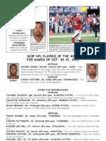 BCSP NFL ProFile - October 31, 2011