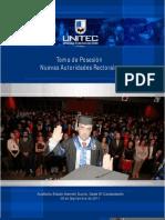 Discurso del Nuevo Rector de UNITEC