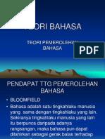 TEORI BAHASA