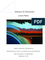 Maths Dyn Lecture Notes Update Nov 06