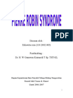 Pierre Robin Syndrome (Erliswita Reza)