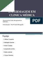 Doenças e infecções do trato respiratório
