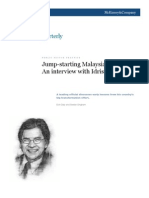 Jump-starting Malaysia's growth - An interview with Idris Jala