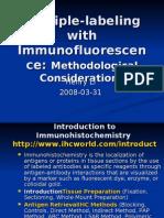 Multiple-labeling with Immunofluorescence