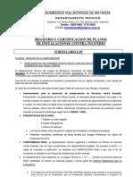 FORM F.05-Presentacion de Planos de Servicio Contra Incendio