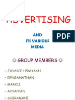 Advertising & Its Various Media
