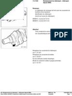 RA Rem Placement Du Vilebrequin - Vilebrequin déposé (M40)
