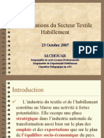 Présentations Du Secteur Textile Habillement