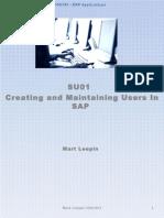 SAP User A Ministration