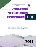 La Violencia Sexual Como Ente Criminal