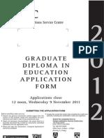 Graddip App Form