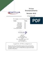 Highlights of 49 Version of Virtua - VTLS