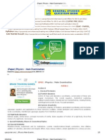 (Paper) Physics _ Main Examination _ UPSCPORTAL.com - India's Largest Online Community for UPSC, IAS, Civil Services Aspirants