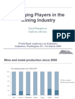 Emerging Players in the Mining Industry
