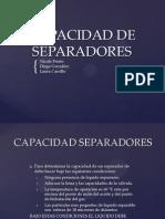 CAPACIDAD SEPARADORES-1