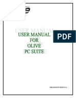Olive Phone Suite Manual