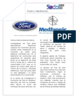 Ford y Medtronic