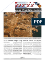 Torii U.S. Army Garrison Japan weekly newspaper, Mar. 17, 2011 edition