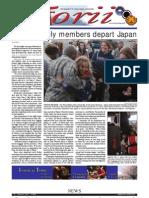 Torii U.S. Army Garrison Japan weekly newspaper, Mar. 31, 2011 edition