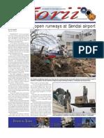Torii U.S. Army Garrison Japan weekly newspaper, Apr. 7, 2011 edition