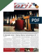 Torii U.S. Army Garrison Japan weekly newspaper, Sep. 15, 2011 edition