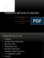 Scientific Method of Enquiry (2)