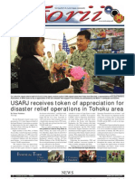 Torii U.S. Army Garrison Japan weekly newspaper, Oct. 20, 2011 edition