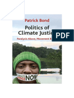 Politics of Climate Justice - Paralysis Above, Movement Below