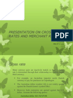 Cross Rate and Merchant Rate