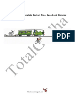 Total Gadha's Complete Book of Time Speed and Distance Without Passsword