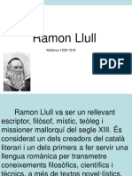 Ramon Llull i La Cancilleria Reial Power Point