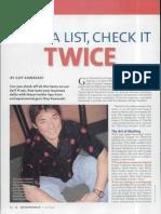 Make a List, Check It Twic