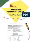 Mekanisme Pembekuan darah