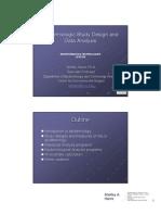 Epidemiologic Study Design and Data Analysis