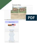 Malaysian New Economic Policy Wikipedia
