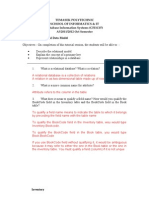 DBIS Tutorial 02 Relational Data Model