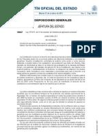 Ley 37/2011, de 10 de octubre, de medidas de agilización procesal.