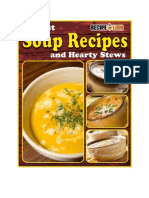 38 Best Soup Recipes and Hearty Stews eCookbook