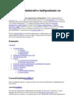Autorité administrative indépendante en France