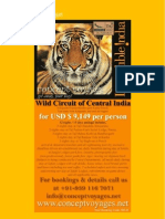 Wild Circuit of Central India-12nights-13days-31mar12