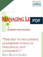 Managing Less