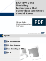 Sap BW Data Modelling