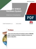 DBS3900 Hardware System 20081015 B 1 0