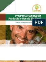 Cartilha sobre o Programa Nacional de Produção e Uso do Biodiesel