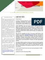 ISAA Newsletter